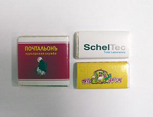 Шоколадки с логотипом (3 г и 5 г)