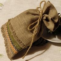 мешочки из джута