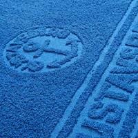 полотенце махровое с разноуровневым логотипом