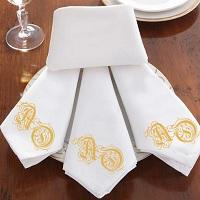 салфетки текстильные с логотипом