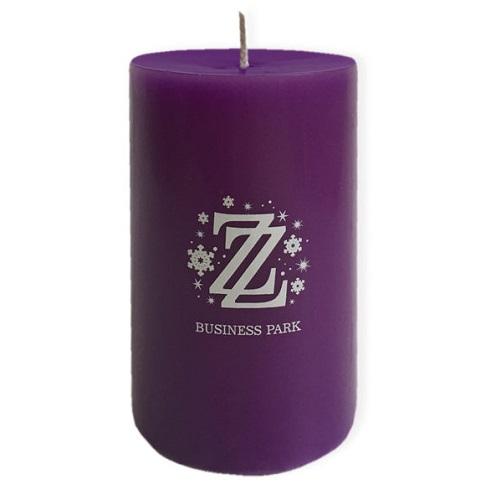 Оригинальные свечи с логотипом
